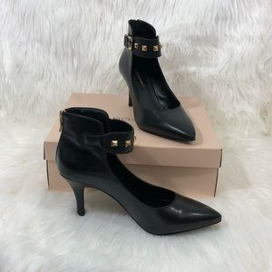 BCBGeneration Black Heels Olga Size 7.5M